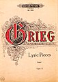 Edvard Grieg - Lyrics Pieces Opus 12 Book 1.jpg