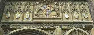 Royal supporters of England - Image: Edward III Trinity