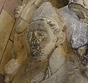 Effigy of St Anian II or other Bishop at St Asaph - Llanelwy - Cymru, Wales 07 (cropped).jpg