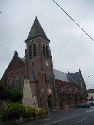 Bauvin - Image: Eglise Bauvin 1