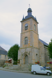The church of Caulnes