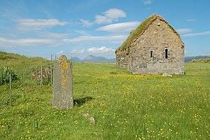 MacCormaig Isles - Image: Eilean Mor Chapel