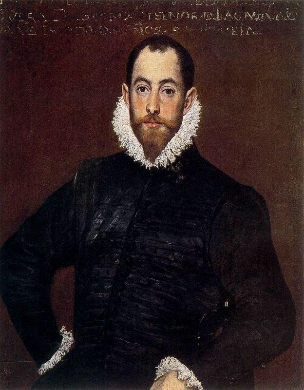 El Greco - Portrait of a Gentleman from the Casa de Leiva - WGA10455