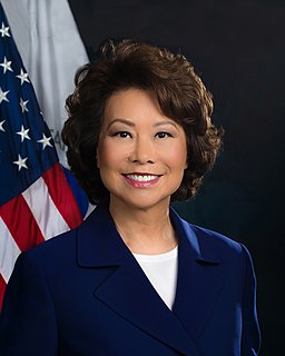 Elaine Chao 18th United States Secretary of Transportation and 24th United States Secretary of Labor