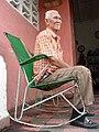 Elderly Man in Rocking Chair - Pinar del Rio - Cuba (3793869909).jpg