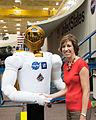 Ellen Ochoa with Robonaut2.jpg