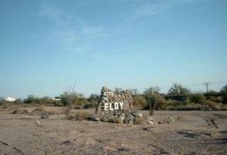 Eloy, Arizona - Image: Eloy