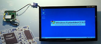 Windows IoT - Windows Embedded CE 6.0 running on an ICOP Vortex 86DX-System