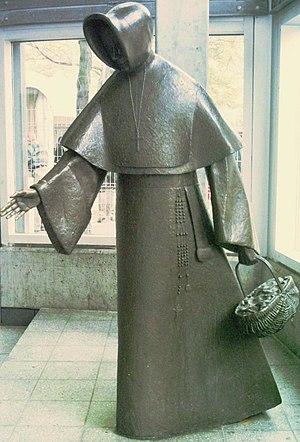 Place Émilie-Gamelin - Mère Émilie Gamelin  sculpture by Raoul Hunter