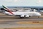 Emirates, A6-EDS, Airbus A380-861 (42595666310).jpg
