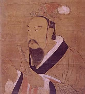 Northern and Southern dynasties - Portrait of Emperor Wu of Liang