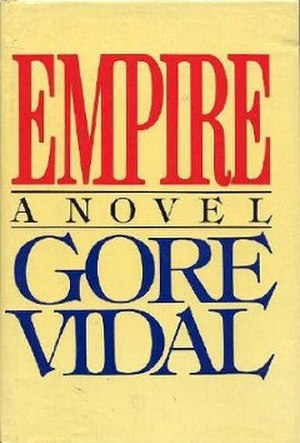 Empire (Vidal novel) - Cover of the first edition