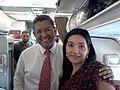 En su viaje a Washington,Maryland el 17 de mayo de el 2012 Junto a el Ex presidente de El Salvador Paco Flores..jpg