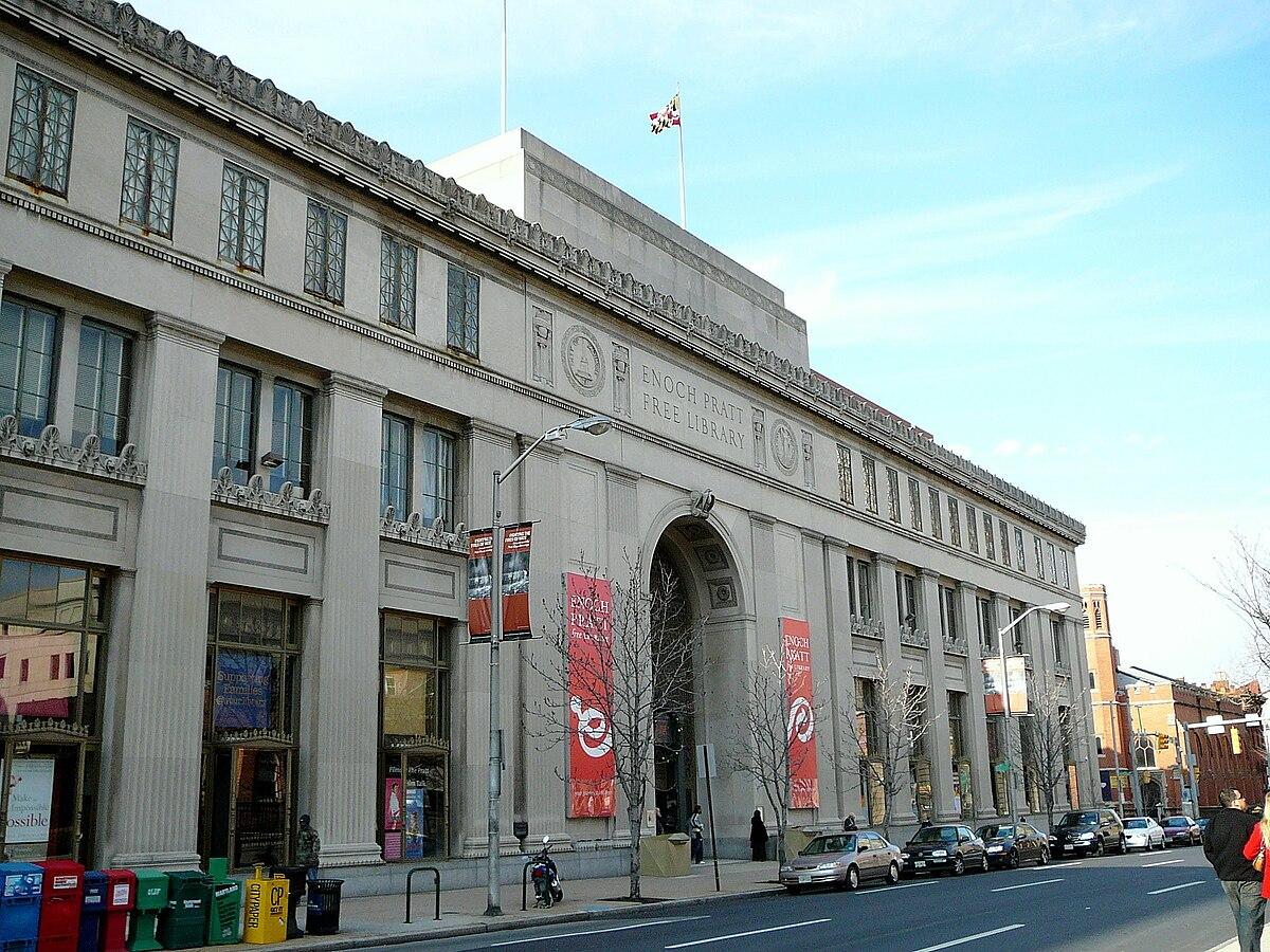 Enoch Pratt Free Library - Wikipedia