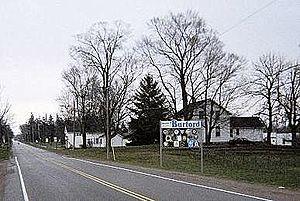 Burford, Ontario - Image: Entering Burford Hwy 53eastbound