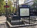 Entrée Station Métro Michel Bizot Paris 3.jpg