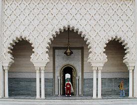 Mausoleum Of Mohammed V Wikipedia