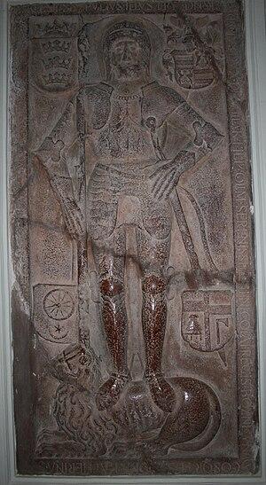 Lawrence of Ilok - Image: Epitaf Lovre sina Nikole Ilockog crkva sv Ivana Kapistrana Ilok 221209