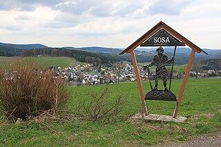 Sosa, Germany Ortsteil of Eibenstock in Saxony, Germany