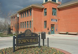 Erie, Colorado - Town Hall of Erie, Colorado