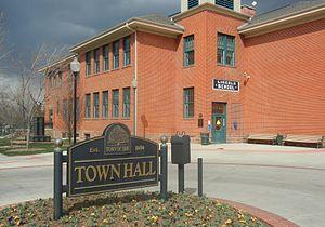 Erie, Colorado - Town Hall of Erie, Colorado