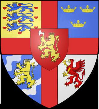 Escutcheon (heraldry) - Image: Erik av Pommern 2000px