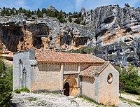 Ermita de San Bartolomé, Parque Natural del Cañón del Río Lobos, Soria, España, 2017-05-26, DD 03.jpg