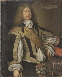 anonym: Portrait of Ernest Günther, Duke of Schleswig-Holstein-Sonderburg-Augustenburg