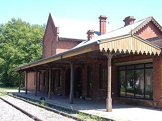 Antártida Argentina railway station - Image: Estación Antártida Argentina