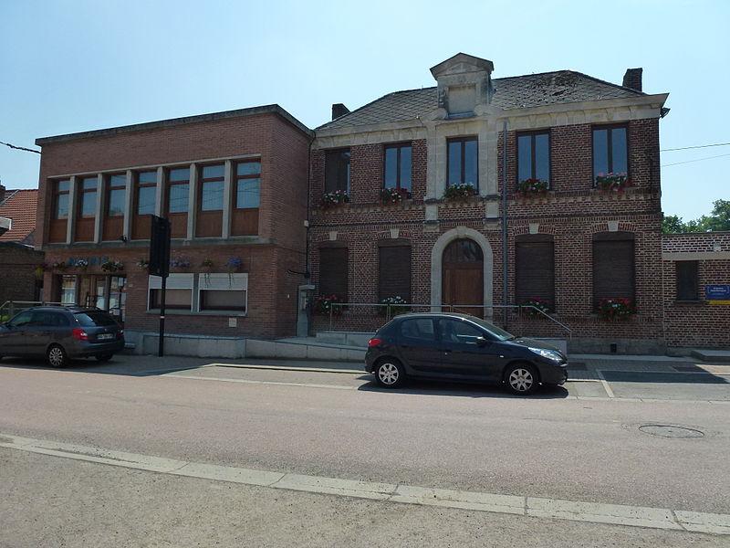Estreux (Nord, Fr) mairie
