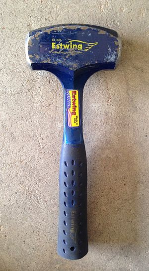 Estwing - Image: Estwing 3 lb. drilling hammer