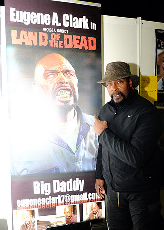 Eugene Clark (actor) - Clark at the Weekend Of Horrors 11 Convention Oberhausen, Germany, 2013