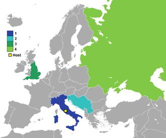 UEFA Euro 1968 - 1968 UEFA European Football Championship finalists.
