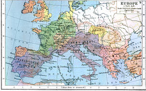 History of Hungary before the Hungarian Conquest - Image: Europe in 526