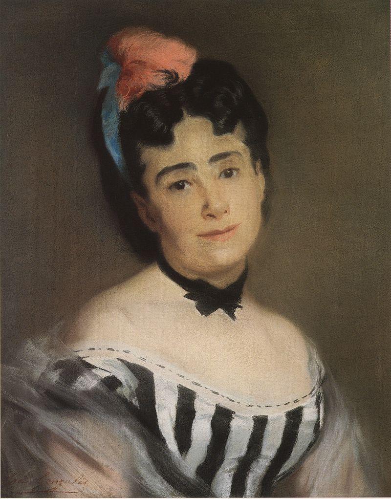 Ева Гонсалес - Портрет мадам EG (Эммануэль Гонсалес), mère de l'artiste.jpg
