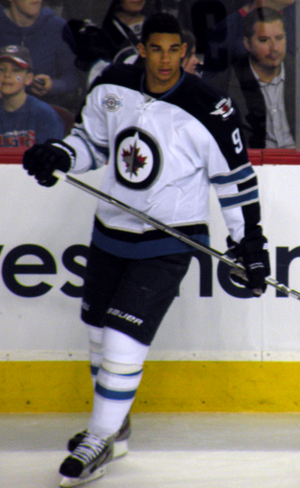 Evander Kane - Kane in March 2012 with the Winnipeg Jets