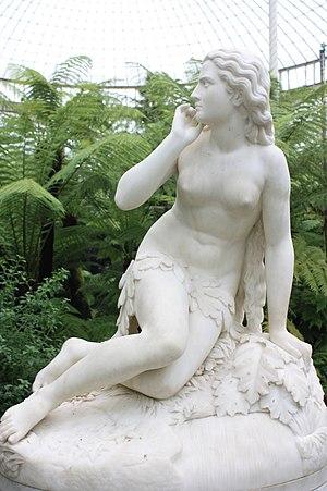 Glasgow Botanic Gardens - Eve by Scipione Tadolini, Kibble Palace