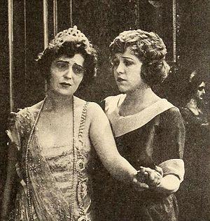 Everywoman (1919 film) - Still with Violet Heming and Mildred Reardon