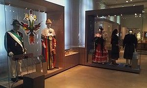 Museum Europäischer Kulturen - Exhibit of European costumes in the museum