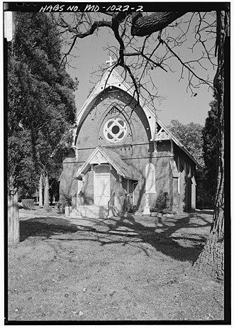 Beltsville, Maryland - Image: Exterior of St. Josephs Chapel Ammendale Normal Institute