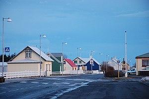 Eyrarbakki - View of the village