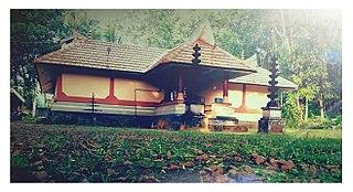 Ezhumattoor village in Kerala, India