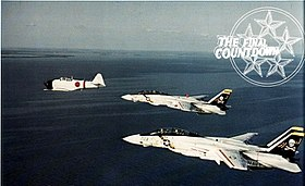 F-14A Tomcats of VF-84 during The Final Countdown filming 1979.jpg