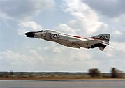 F-4B VF-74 taking off 1961