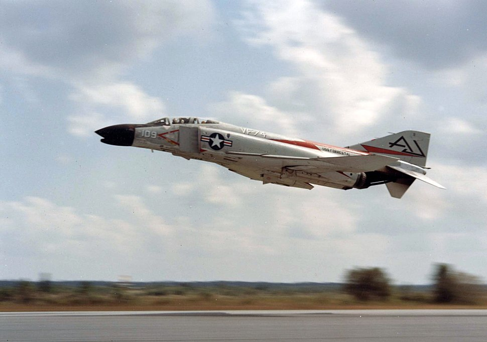 F-4B VF-74 taking off 1961.jpg