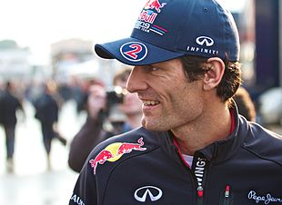 Mark Webber en 2012