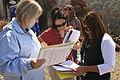 FEMA - 37391 - Members of a PDA Team Compare Notes in the field in California.jpg