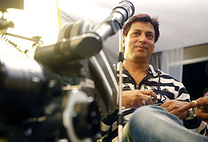 Madhur Bhandarkar - Madhur Bhandarkar on the Sets of Heroine