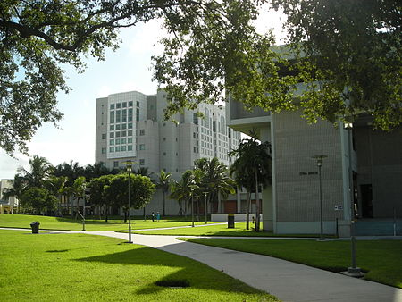 Green Library and Owa Ehan. FIU OE.JPG