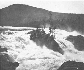 Kootenay River - Falls of the Kootenay River below Kootenay Lake, ca. 1936